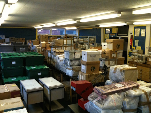 New premises needed to store the archive