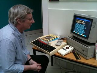Finding the article he wrote in 1985 on the National disc of the Domesday set